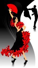 background flamenco
