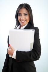 Beauty Businesswoman smiling