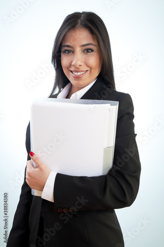 Beauty Businesswoman smiling