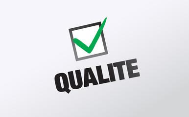 note sur la qualité