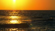 Stock Video Footage of a sunset reflected in the Mediterranean at Dor Beach shot in Israel at 4k with Red.