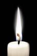 Kerze weiß