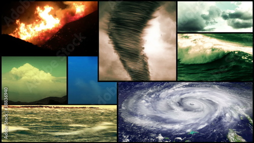 Storm Weather Montage Composition