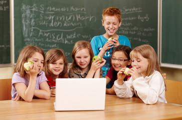 Laptopeinsatz in der Grundschule