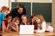 moderne Lernmethode in Grundschule