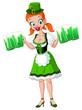 Saint Patrick girl