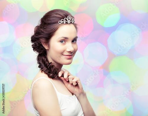 Girl in a diadem