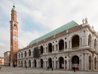 Palladian's Basilica in Vicenza