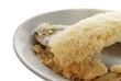 Постер, плакат: Fish baked in salt Pesce cotto nel sale