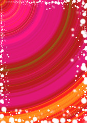 Hintergrund Kreise Rot Pink