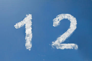 1 and 2  clouds number