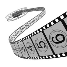 Bobine de film Filmstrip -