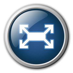 Fullscreen Glossy Button