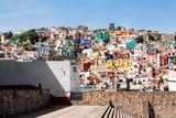 Fototapety Guanajuato, colorful town in Mexico
