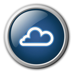 Cloud Glossy Button
