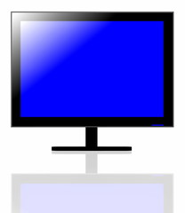 LED TV screen