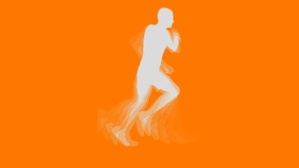 Running Man Vector Animation