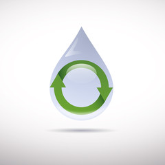 Logo recycling # Vector