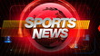 SPORTS News - Broadcast Graphics Title