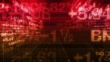 Stock Market Data Tickers 3D World poster
