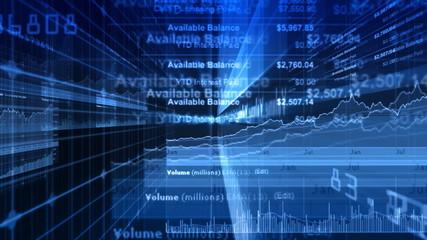 Stock Market & Financial Data Animation