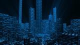 Stock Market Metropolis poster