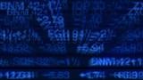 Stock Market Data Tickers Board poster