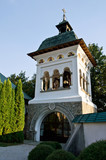 The Bell tower at the Sinaia Monastery, Romania poster