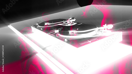 Turntable DJ Divas V1, HD 1080 Loop