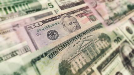 U.S. Money In Motion Animation