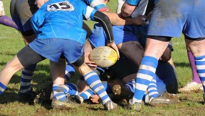 sortie du ballon au rugby