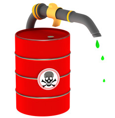 A barrel of poison