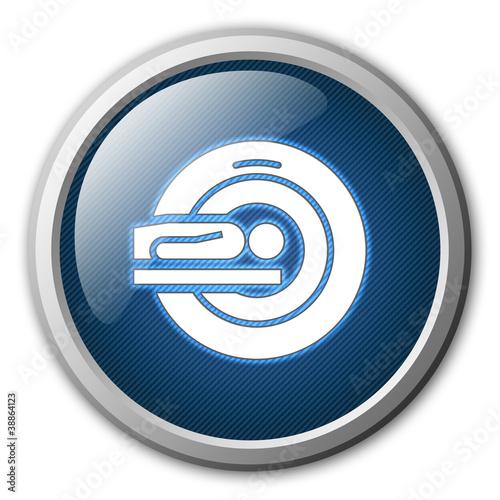 MRI Glossy Button
