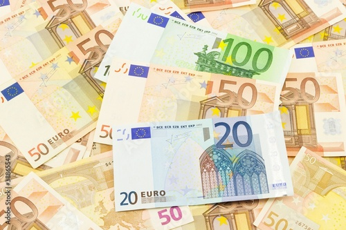 Banconote 20 50 100 soldi