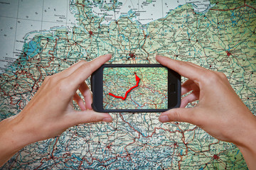 Navigation Smartphone