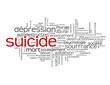 Nuage de Mots-clés SUICIDE (tags dépression solitude souffrance)