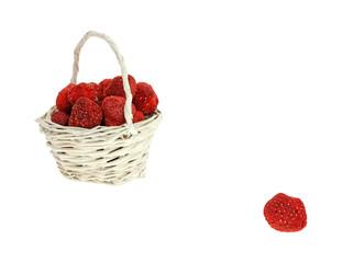 Dried Strawberries Basket Plus One
