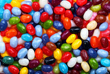 Colorful jellybean background