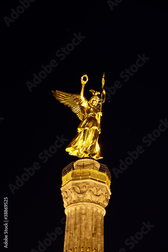 Fototapeten,siegessäule,berlin,goldene,elipse