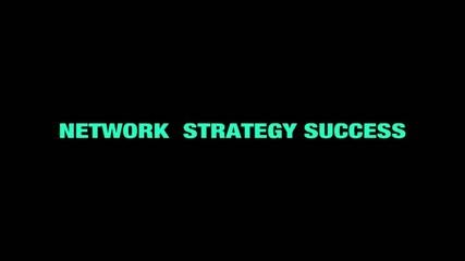 Business related words - corporate - loop