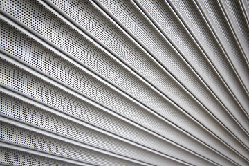 metal security shutters background