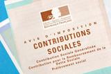 Avis de contributions sociales poster