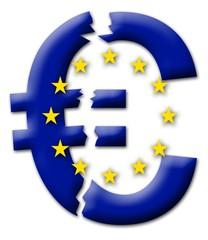 Euro zerfällt