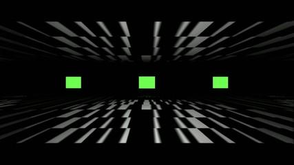 Amplifier - tunnel & flashing lights