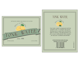50's tonic water