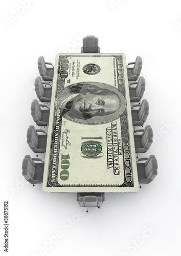 Big business boardroom dollar