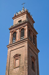 St. Benedetto Belltower Church. Ferrara. Emilia-Romagna. Italy.