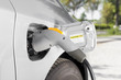 Elektroauto: beim Tanken