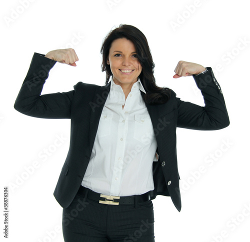a strong business woman