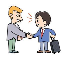 Overseas visit - Negotiations